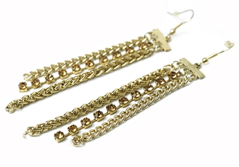 Picture of Earring Diane goldc/diamond