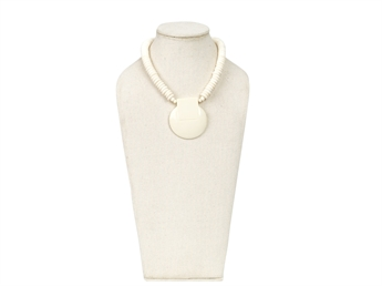 Picture of Necklace Rakel, ivory