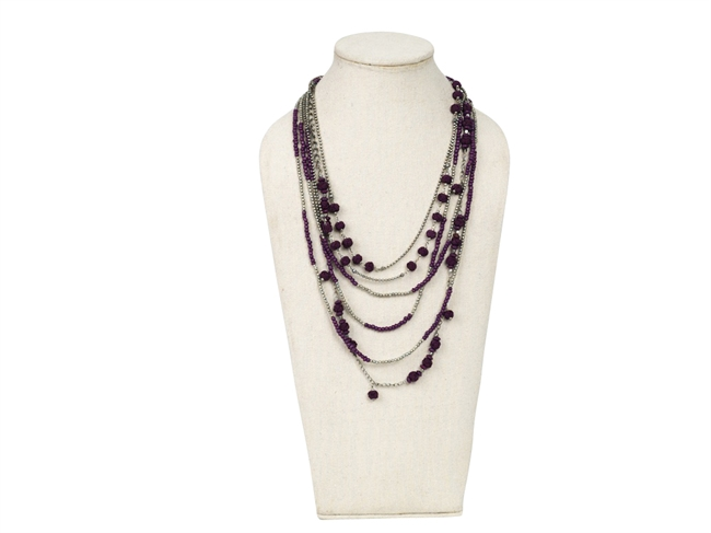 Picture of Necklace Anya, purple