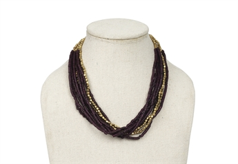 Picture of Necklace Isabella, purple