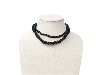 Picture of Necklace Isa, black
