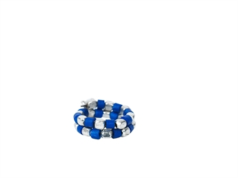Picture of Ring Polkadot, blue