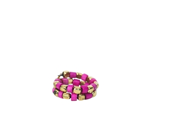 Picture of Ring Polkadot, fushia