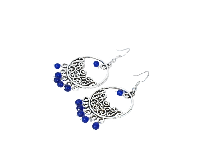 Picture of Earring Alexandria, blue