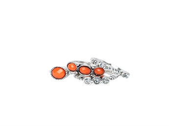Picture of Ring Alisa, orange