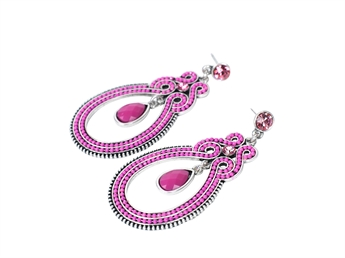 Picture of Earring Ibiza, fushia