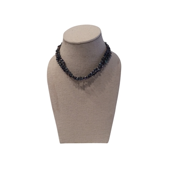 Picture of Necklace Flora, grey