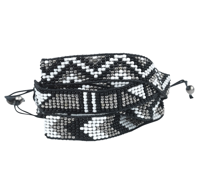 Picture of Bracelet Chilly, black mix