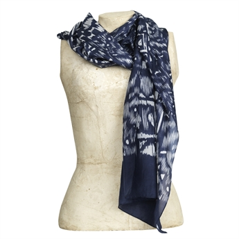 Picture of Scarf Antibes, grey mix