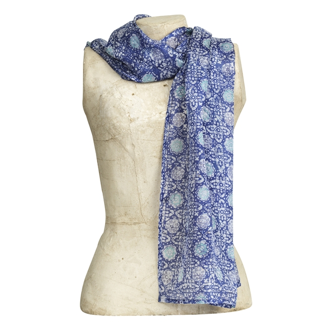 Picture of Scarf Vendaval, blue mix