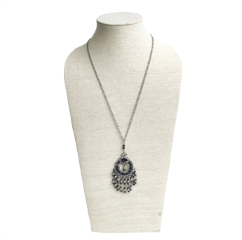 Picture of Necklace Valerie, silver/grey