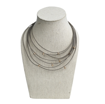 Picture of Necklace Oak, taupe