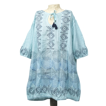 Picture of Tunic Marielle, dirty turquoise