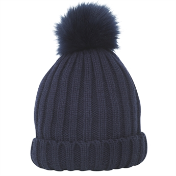 Picture of Knitted cap Aspen, dk blue