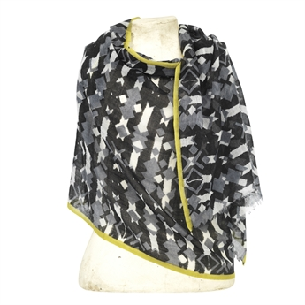 Picture of Scarf Houston, black/lime