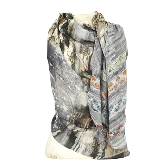Picture of Scarf Yellow, grey
