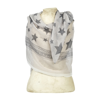 Picture of Scarf Gemini, grey/white