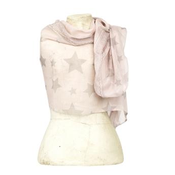 Picture of Scarf Gemini, lt pink/beige