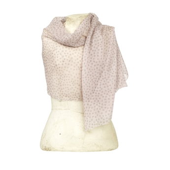 Picture of Scarf Mimmi, lt pink/beige