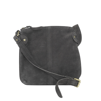 Picture of Shoulder bag Ritz suede, brown