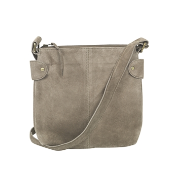 Picture of Shoulder bag Ritz suede, khaki