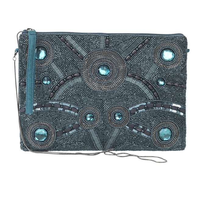 Picture of Clutch bag Liza, teal