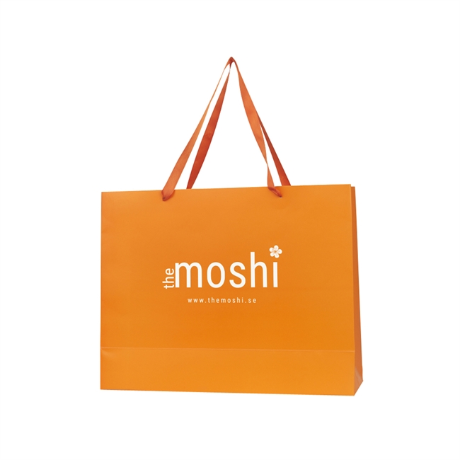 Picture of Large gift bag, orange, 46*36*15 cm