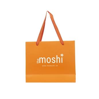 Picture of Medium gift bag, orange, 31,5*26*10 cm