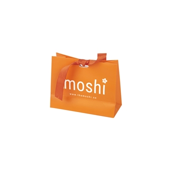 Picture of Small gift bag, orange, 14,5*11,5*6 cm