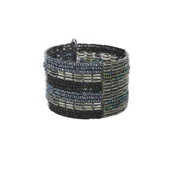 Picture of Bracelet Anna, gun metal mix