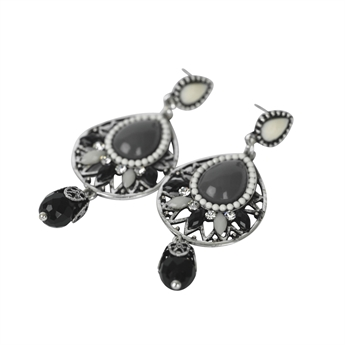Picture of Earring Mollie, grey