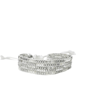 Picture of Bracelet Tara, ivory/silver