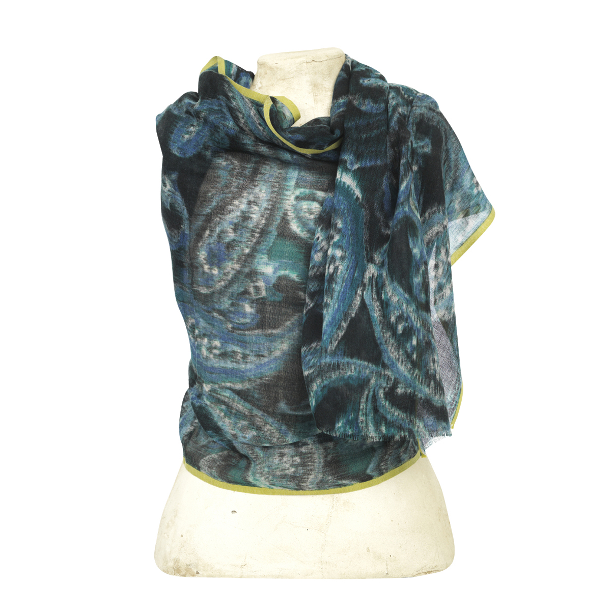 The Moshi . Scarf Bonita, blue/black