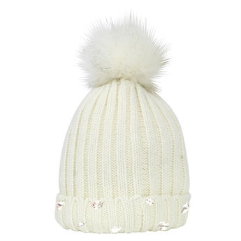 Picture of Knitted cap Sparkling Aspen, cream