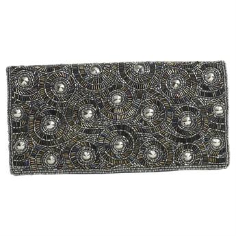Picture of Clutch bag Stella, silver