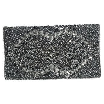 Picture of Clutch bag Pauline, silver