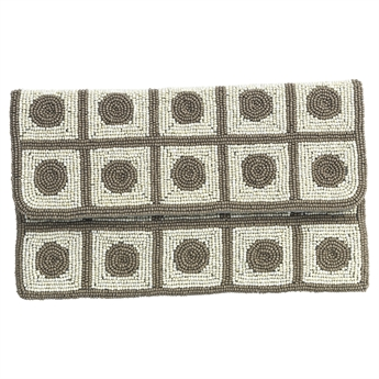 Picture of Clutch bag Dottie, beige