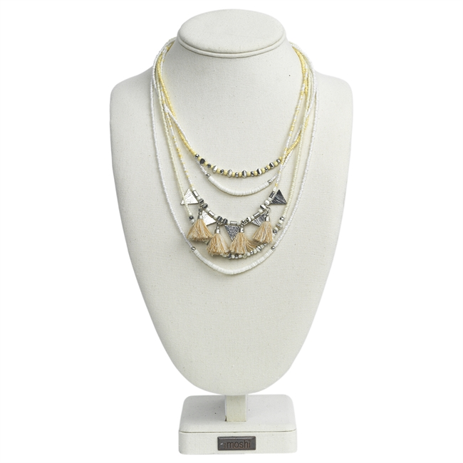 Picture of Necklace Alice, ivory