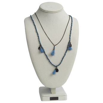 Picture of Necklace Bea, lt blue