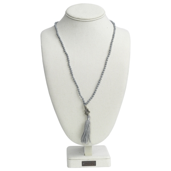 Picture of Necklace Gemma, lt grey