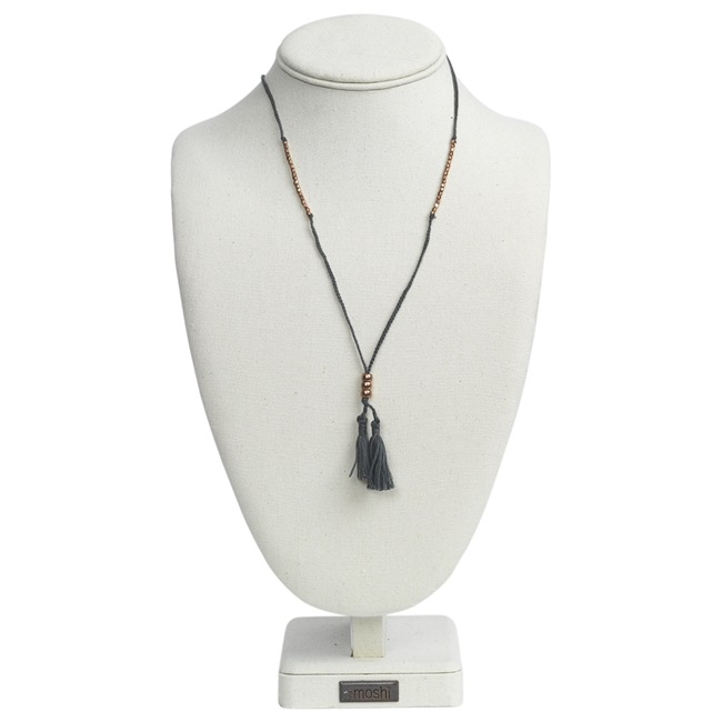 Picture of Necklace Maia, grey