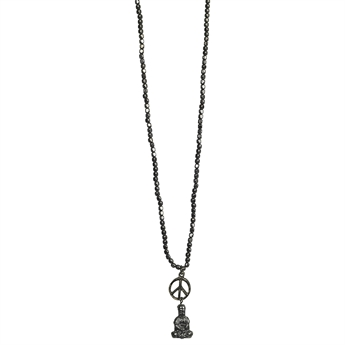 Picture of Necklace Nova, grey