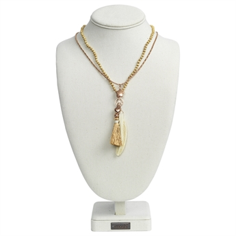 Picture of Necklace Tess, ivory