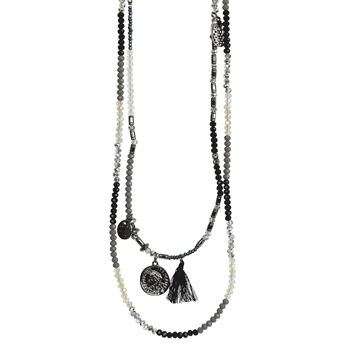 Picture of Necklace Inez, gun mix