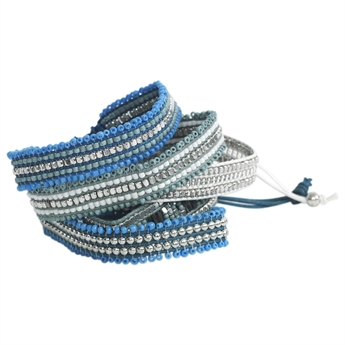 Picture of Bracelet Cool, lt blue/mix