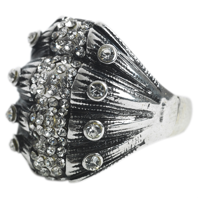 Picture of Ring Tess, ant silver