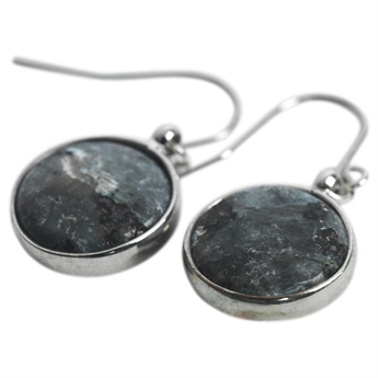 Picture of Earring Alice, grey/silver