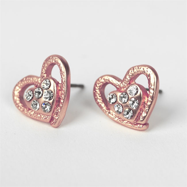 Picture of Earring Ella, matte rose gold