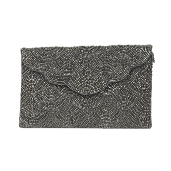 Picture of Clutch bag Hazel, silver