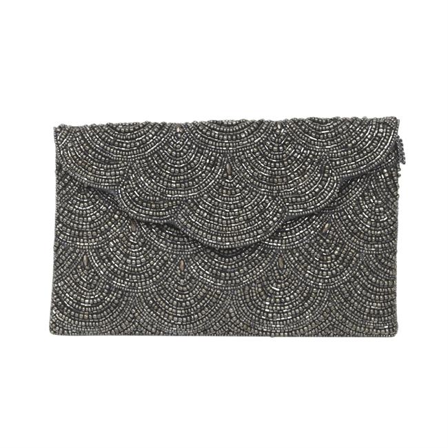 Picture of Clutch bag Hazel, silver